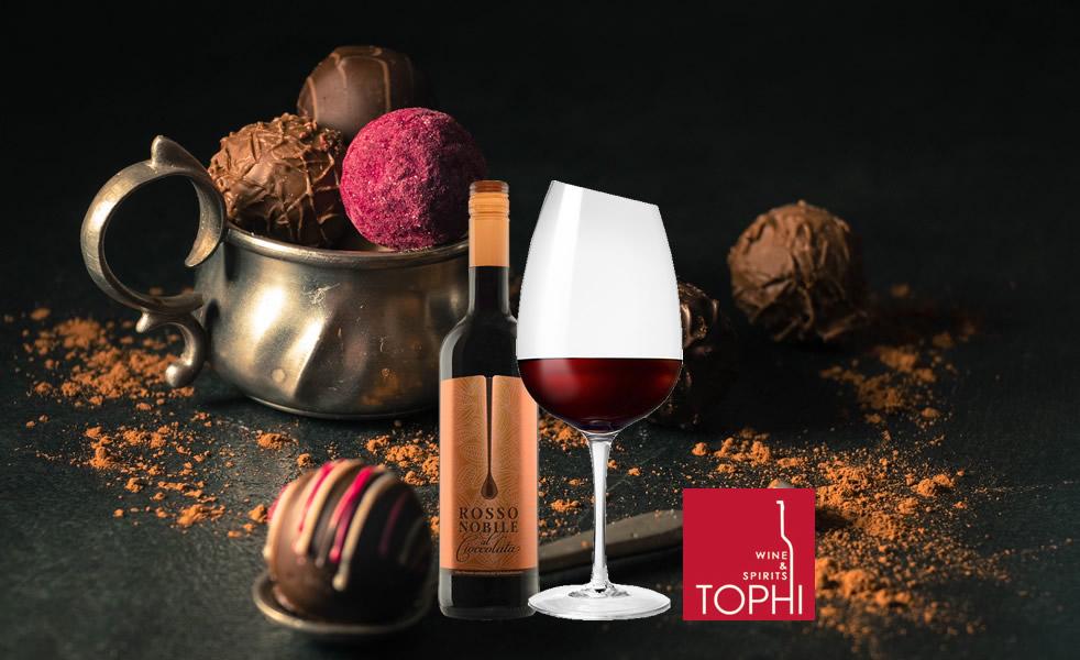 蘿絲諾比貴族巧克力紅酒