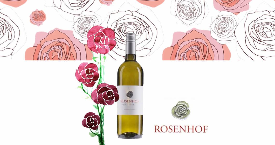 玫瑰園酒莊晚摘麗絲玲甜白酒-Rosenhof Riesling Spatlese