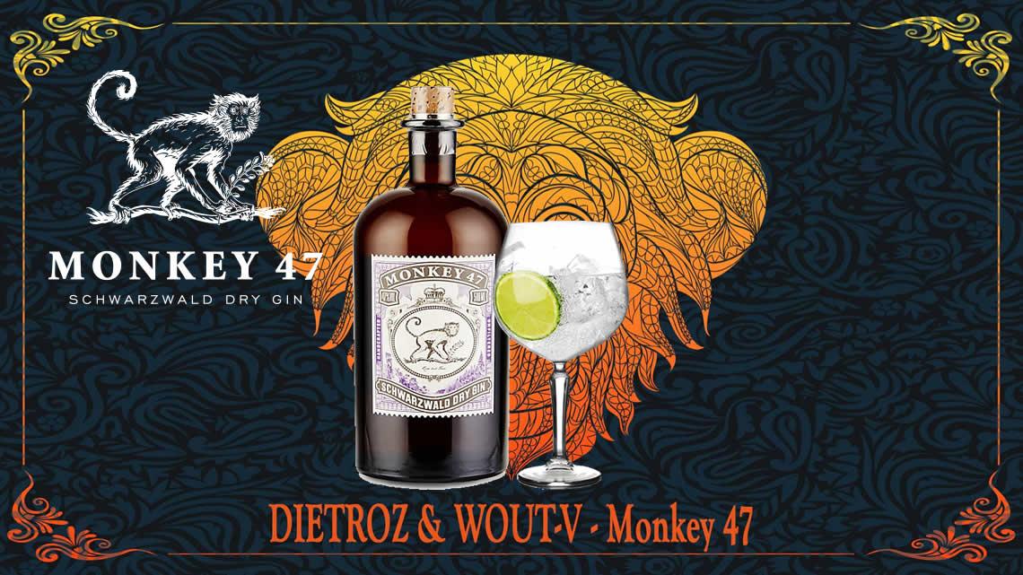 主治:喜歡殖民地風格的大融合特色的患者,這款猴子47琴酒使用長時間輪流浸泡各種香料、水果的方式,讓這充滿異國風情的風味慢慢融入烈酒之中,高達50%的酒精濃度雖然香氣濃郁沁鼻,但卻意外的因為這混和著木質、果香及草本香料的特色,讓口感更滑順易飲,不管加冰塊單飲或是調酒用都有絕佳的表現。