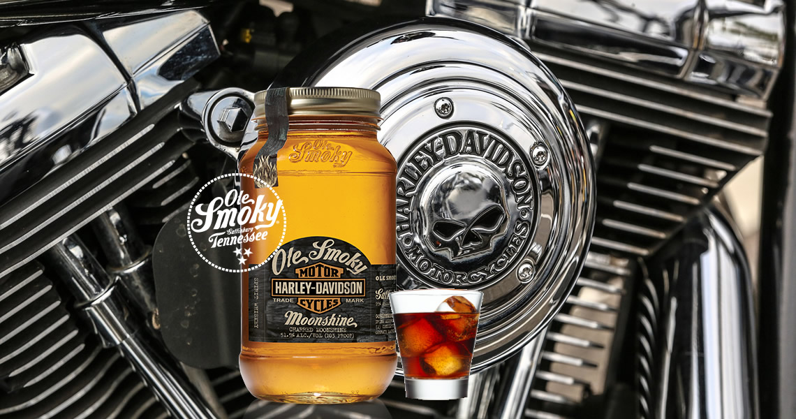 古薰月光酒-哈雷-Ole Smoky Harley-Davidson
