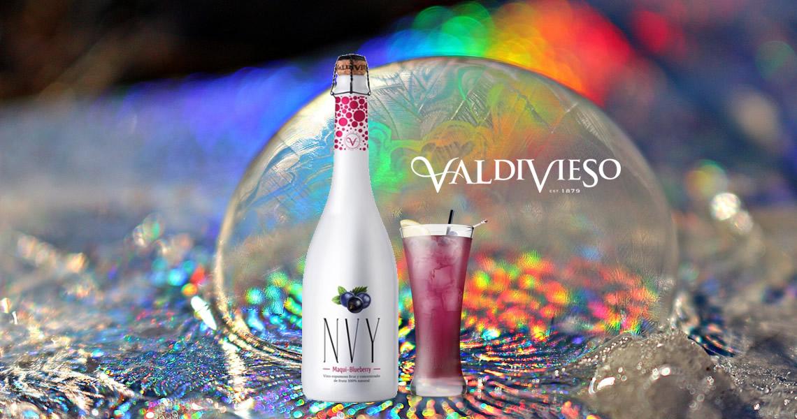 NVY雙藍莓汽泡酒(馬基莓+藍莓)