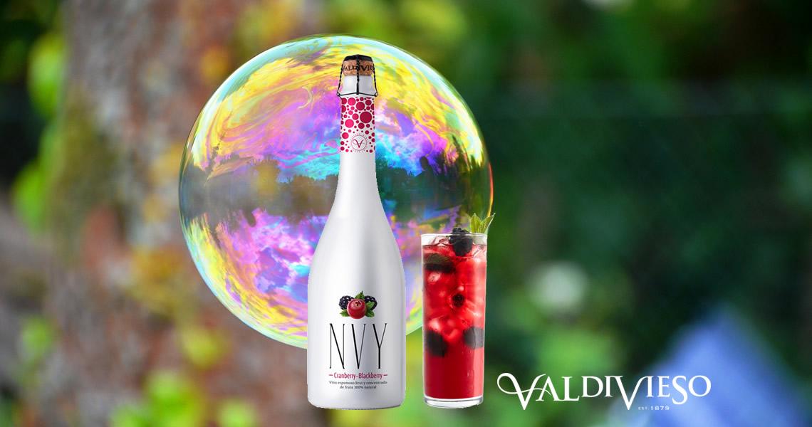 NVY紅黑莓汽泡酒(蔓越莓+黑莓)