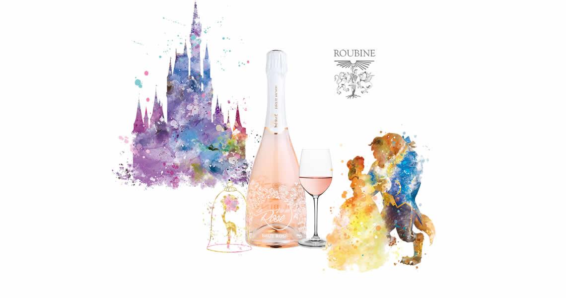 綺麗花語粉紅氣泡酒