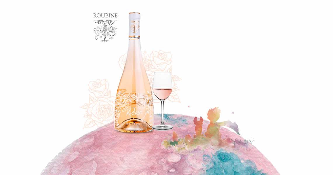 愛情花語粉紅酒-Roubine La Vie en Rose