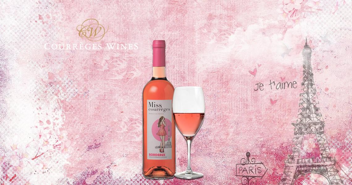 珂理小姐粉紅酒