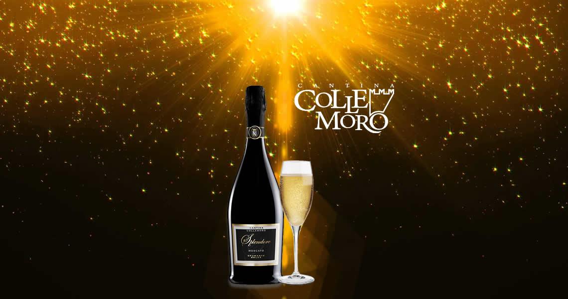 榮耀微甜白氣泡酒-Splendore Moscato Spumante Dolce