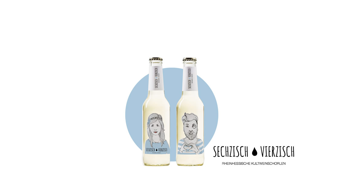 亨利樂蒂-氣泡酒(白酒)-Sechzisch Vierzisch(weisswein+wasser)
