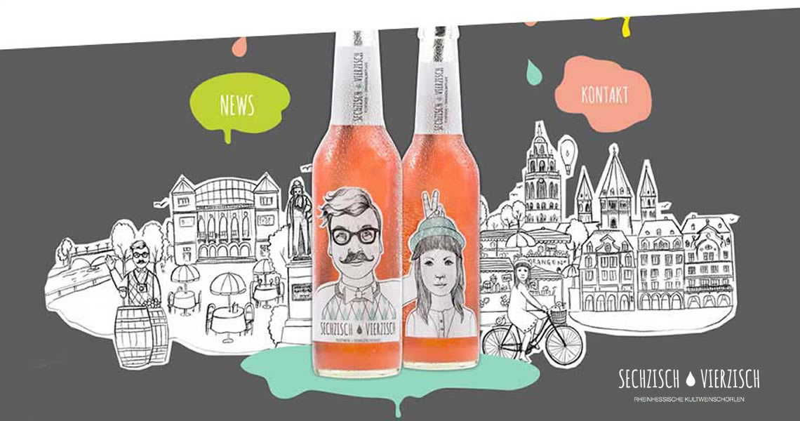 亨利樂蒂-六十、四十橙味氣泡酒-Sechzisch Vierzisch(rosewein+orangenlimonade)