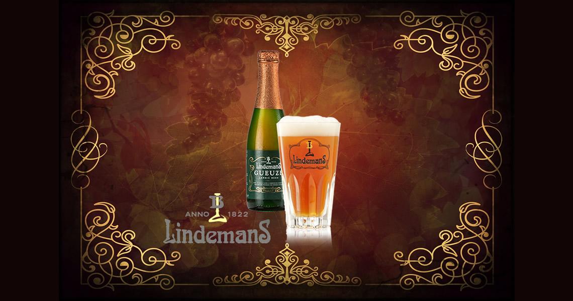 琳德曼自然發酵香檳啤酒