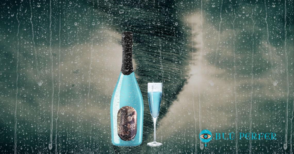 藍酒 - 藍旋風氣泡酒