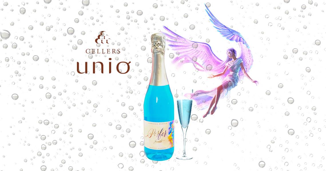 藍酒 - 藍天使氣泡酒
