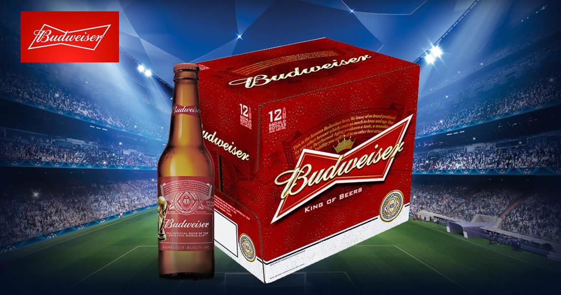 百威啤酒650ml(英國廠瓶裝12入)