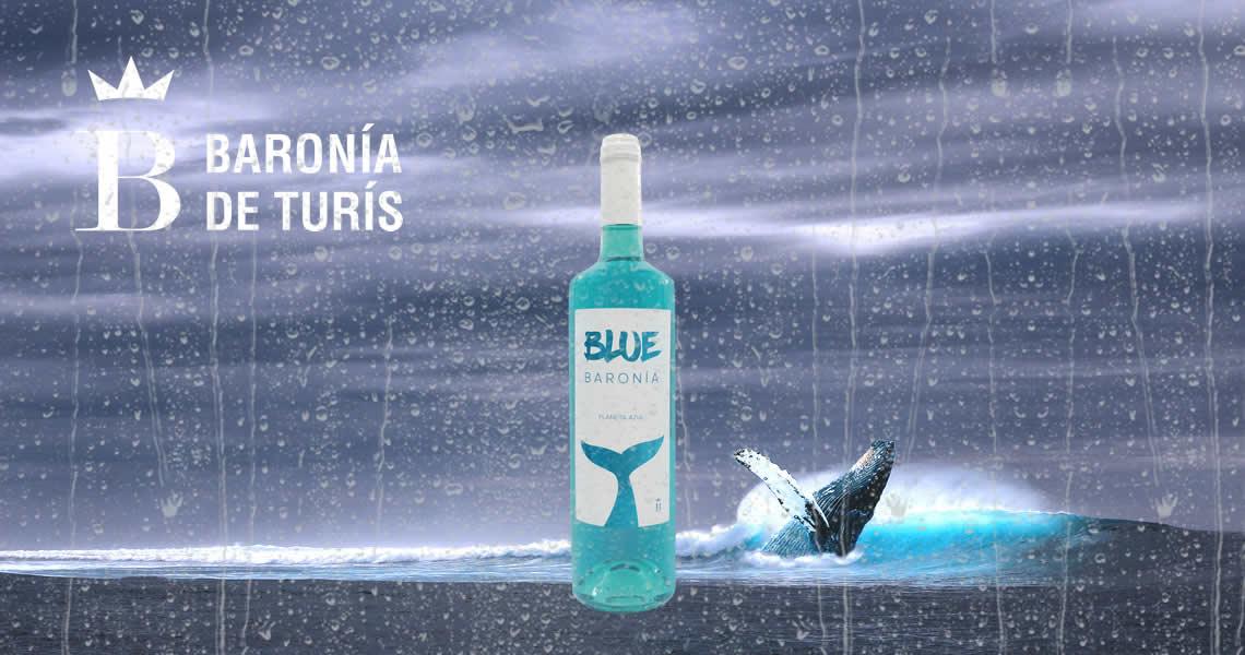 藍酒 - 藍鯨魚葡萄酒-BLUE BARONIA