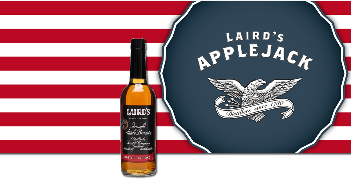 萊爾德蘋果白蘭地 (100 Proof)-Laird - Straight Apple Brandy Bottled in Bond (100 Proof)