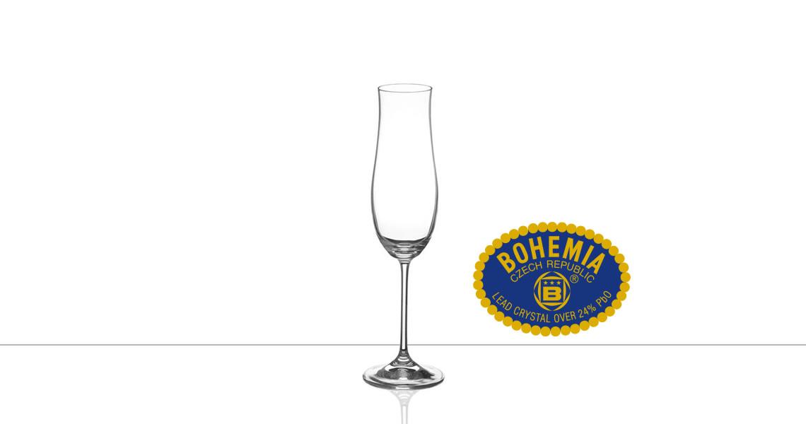 波西米亞-ATTIMO 鬱金香(香檳杯)(CRYSTALEX BOHEMIA ATTIMO CHAMPAGNE FLUTE)