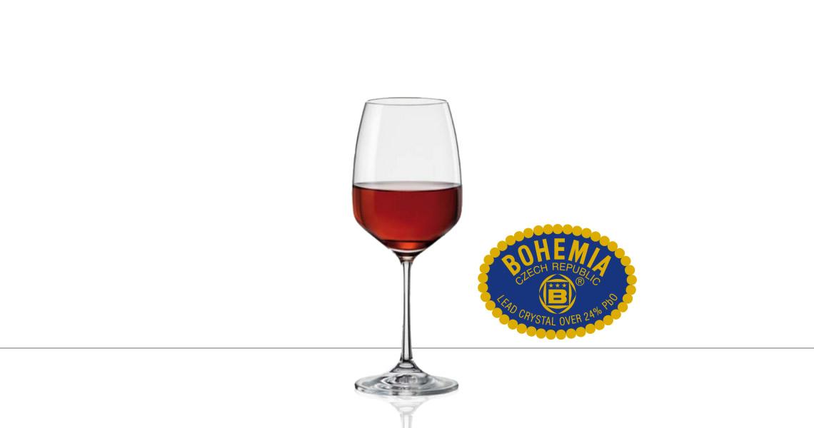 波西米亞-GISELLE 吉賽爾(紅酒杯)(CRYSTALEX BOHEMIA GISELLE WINE)