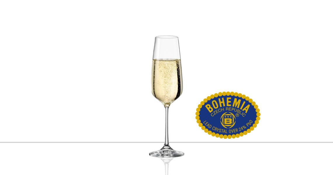 波西米亞-GISELLE 吉賽爾(香檳杯)(CRYSTALEX BOHEMIA GISELLE CHAMPAGNE FLUTE)