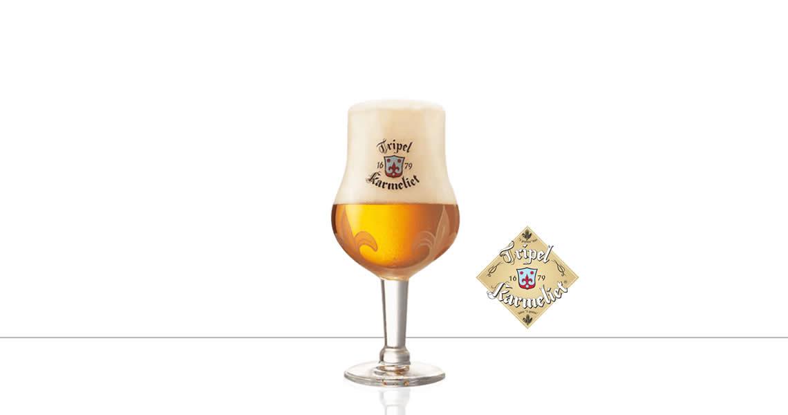 喀麥力-精釀啤酒(原廠杯)(Karmeliet Tripel Beer Glass)
