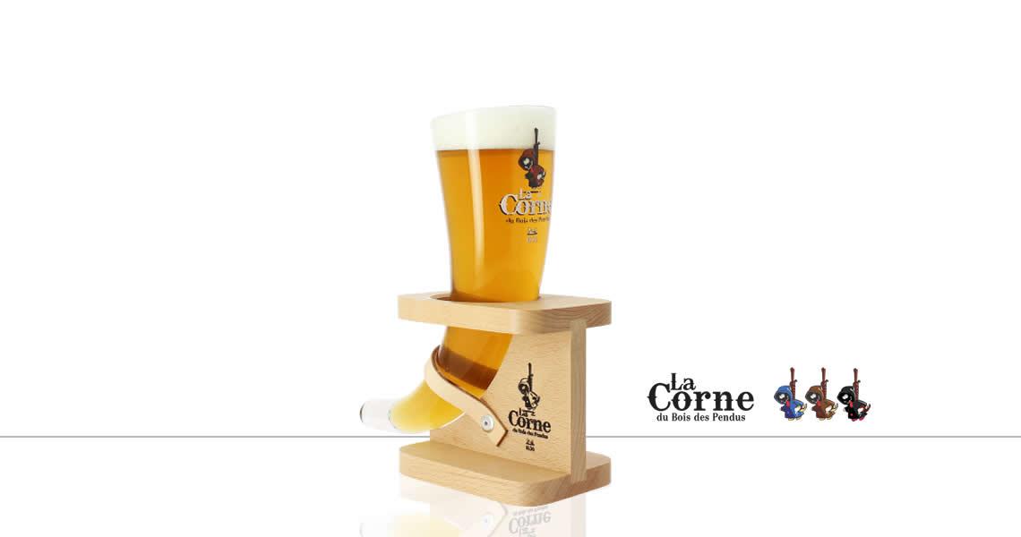 牛角-精釀啤酒(原廠杯)(La Corne Beer Glass)