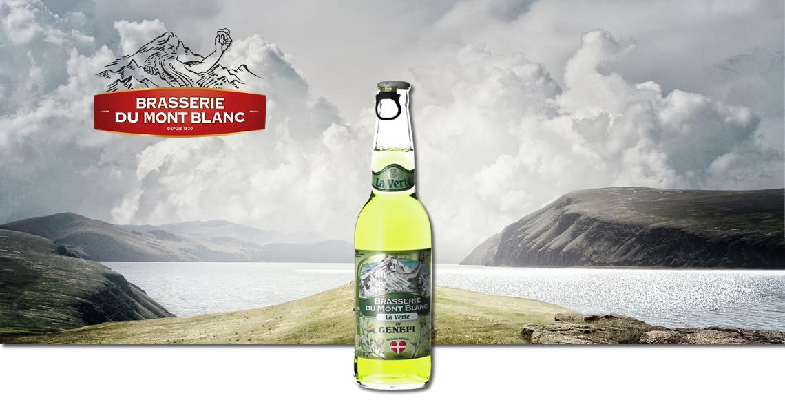 法國白朗峰綠啤酒-Brasserie Du Mont Blanc La Verte