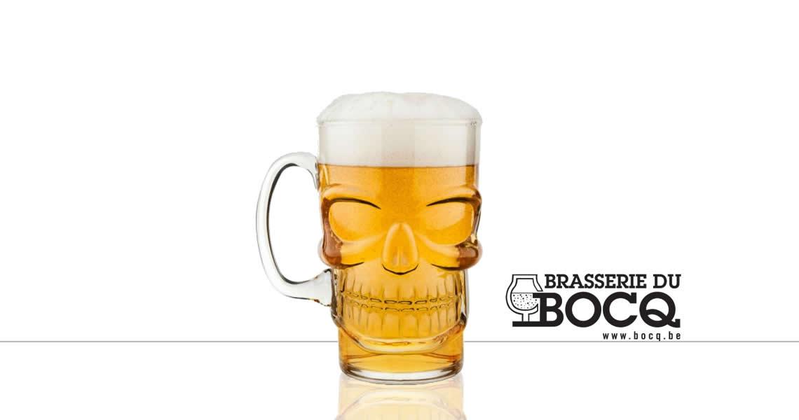 骷髏頭-精釀啤酒(原廠杯)(TETE DE MORT GLASS)