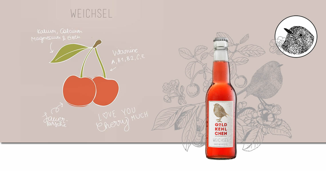 金嗓鳥酸櫻桃鮮釀蘋果酒