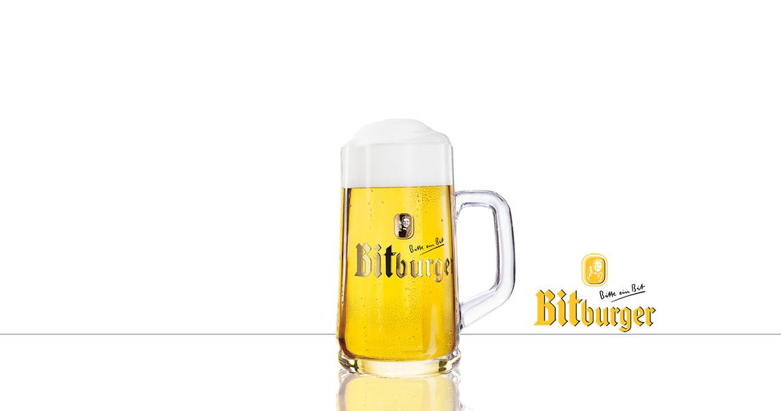 碧伯格生啤酒系列(原廠杯)(Bitburger Glass)