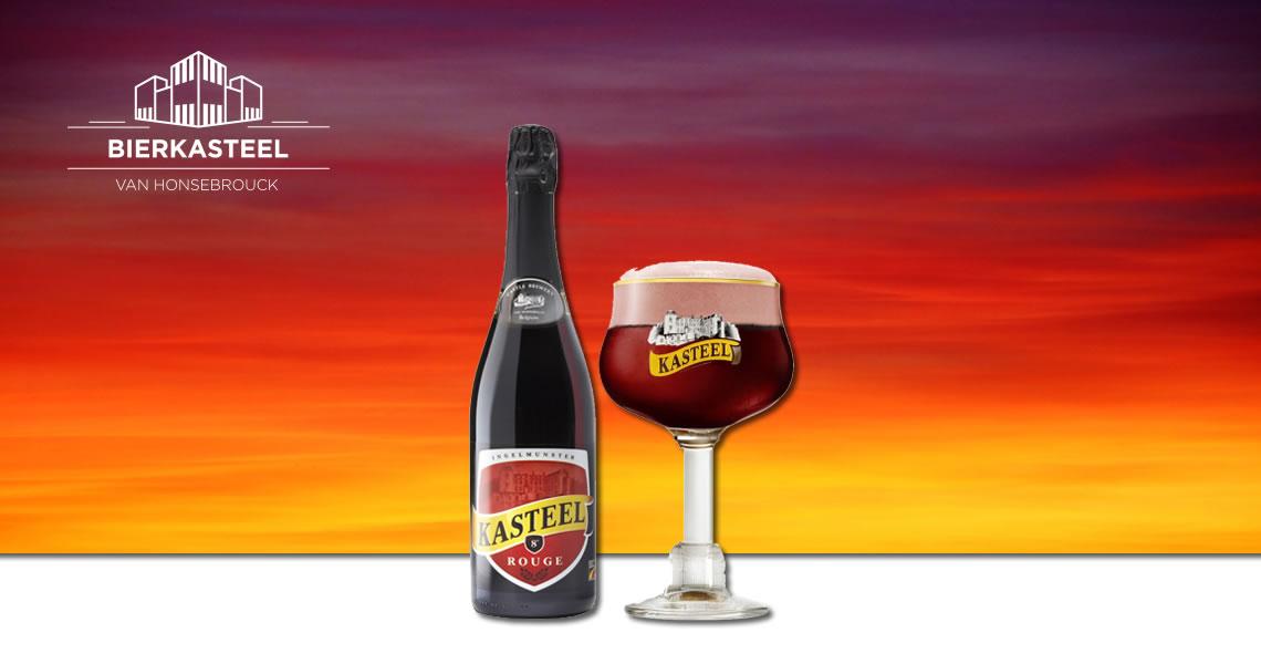 城堡櫻桃黑啤酒 -Kasteel Rouge