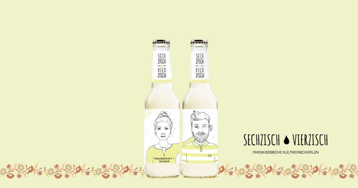 亨利樂蒂-氣泡葡萄果汁飲-Sechzisch Vierzisch Grape Juice