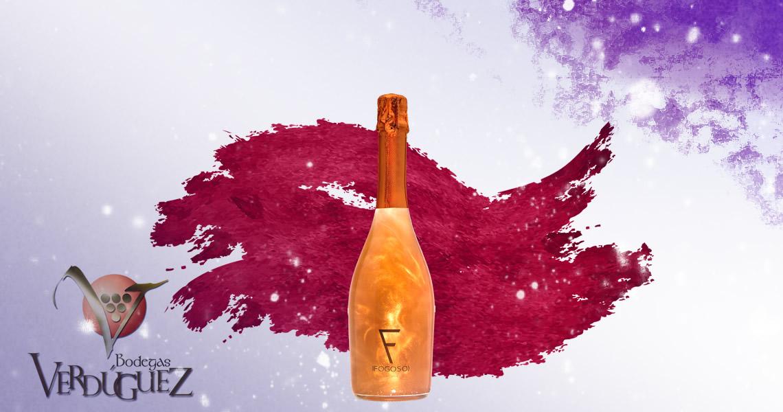 花格星空分子氣泡酒迷戀紅(櫻桃)-Fogoso Bronze Cherry Flavor