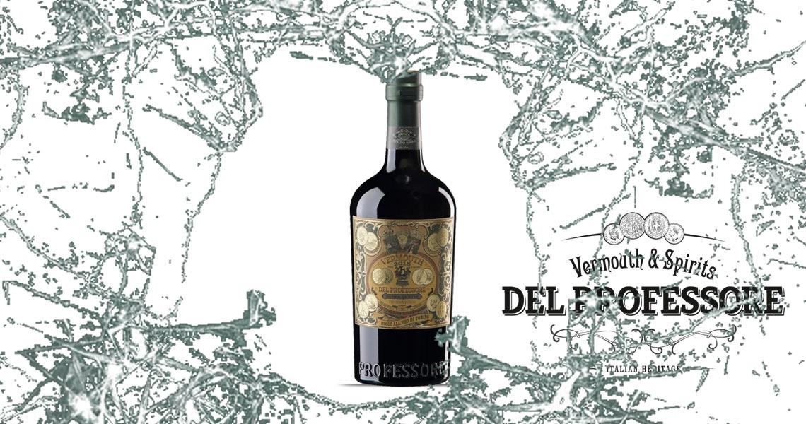 紅酒香艾酒-Del Professore Rosso Vermouth