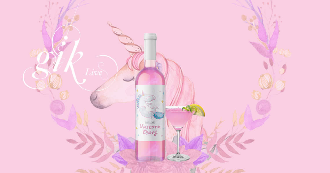 GiK獨角獸之淚粉紅葡萄酒-Gik Unicorn Tears Dreams Pink Wine