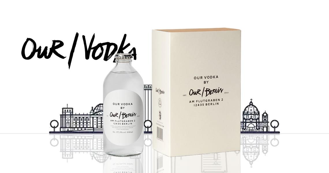 城市伏特加-柏林純白禮盒-Our/Berlin Vodka Giftbox