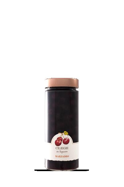 馬莎朵義式鮮果酒-櫻桃-Distilleria Marzadro -Vaso di frutta Bell′Italia Cherries in liqueur