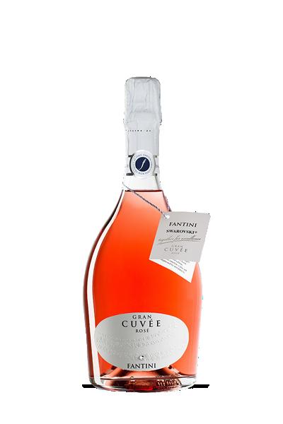 施華洛世奇限量版粉紅氣泡酒-FARNESE Gran Cuvée Rosé
