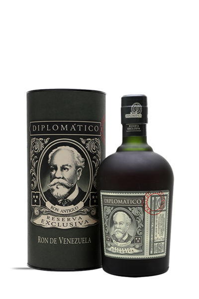 外交官特級精釀-12年蘭姆酒(禮盒組)-Diplomatico Reserva Exclusiva 12 yrs gift