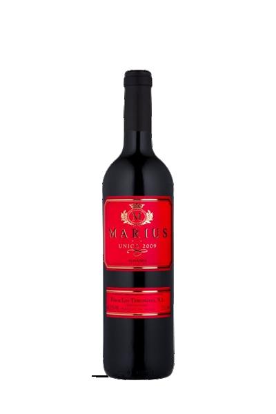 彼凱樂酒莊桂冠騎士晚摘微甜紅葡萄酒-Marius Unico