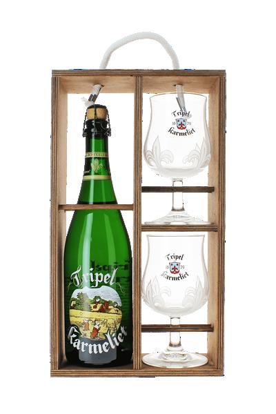 喀麥力精釀啤酒禮盒組(1B2G)-Karmeliet Tripel gift box