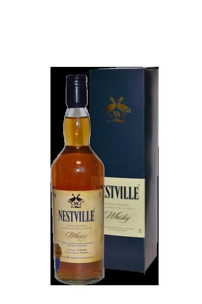 樂威-單一純麥威士忌-特別限量版-Nestville Whisky Single Barrel