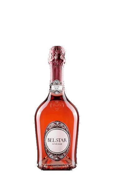 比索酒莊北極星粉紅氣泡酒-Bisol Belstar Cuvee Rose Extra Dry NV