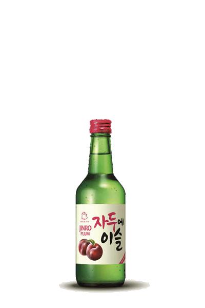 韓國_真露李子燒酎-자두에이슬