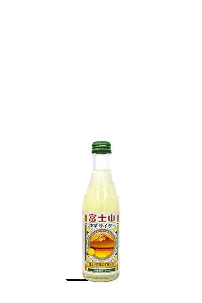 木村-富士山柚子汽水-富士山ゆずサイダー