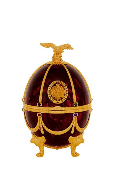 俄羅斯手工法貝熱彩蛋-紅寶石-Faberge Vodka - RUBY