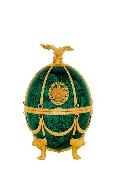 俄羅斯手工法貝熱彩蛋-翡翠-Faberge Vodka Emerald