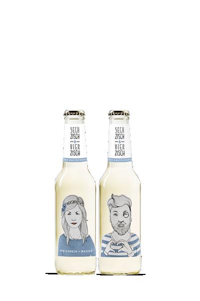 亨利樂蒂-氣泡酒(白酒)-Sechzisch Vierzisch - weisswein+wasser