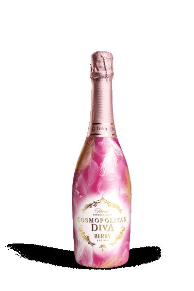 柯夢波丹經典氣泡酒(野莓)-COSMOPOLITAN DIVA BERRY SPARKING