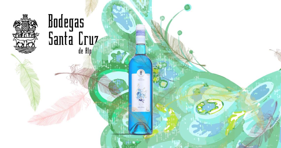 藍孔雀葡萄藍酒-Pavo Blue Wine