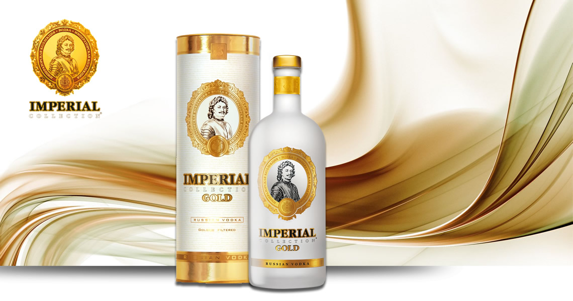 俄羅斯沙皇帝國-金伏特加-Vodka Imperial Collection gold