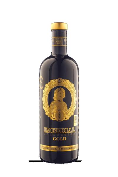 俄羅斯沙皇帝國-限量黑金伏特加-Vodka Imperial Collect Gold Black