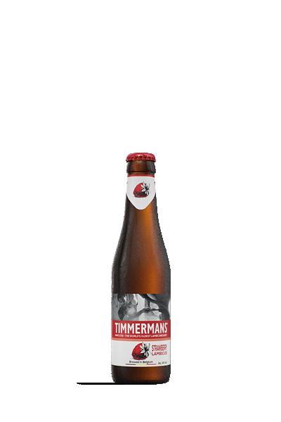 廷曼斯天然發酵草莓水果啤酒-Timmermans Strawberry Lambicus